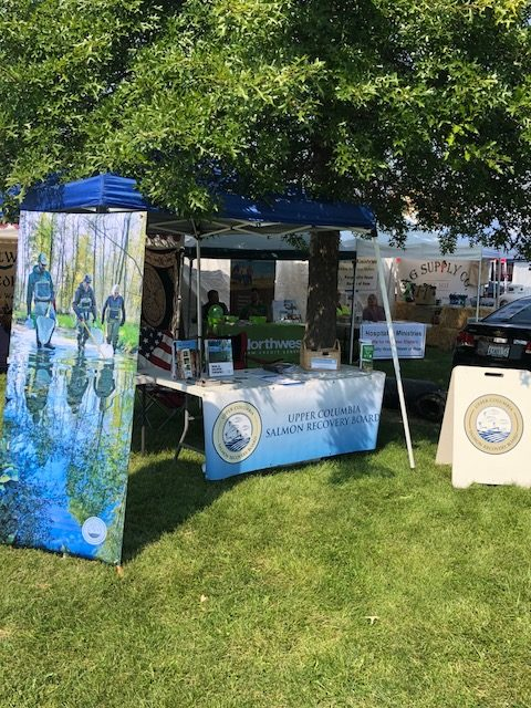 Upper Columbia Salmon Recovery Board at the Chelan County Fair